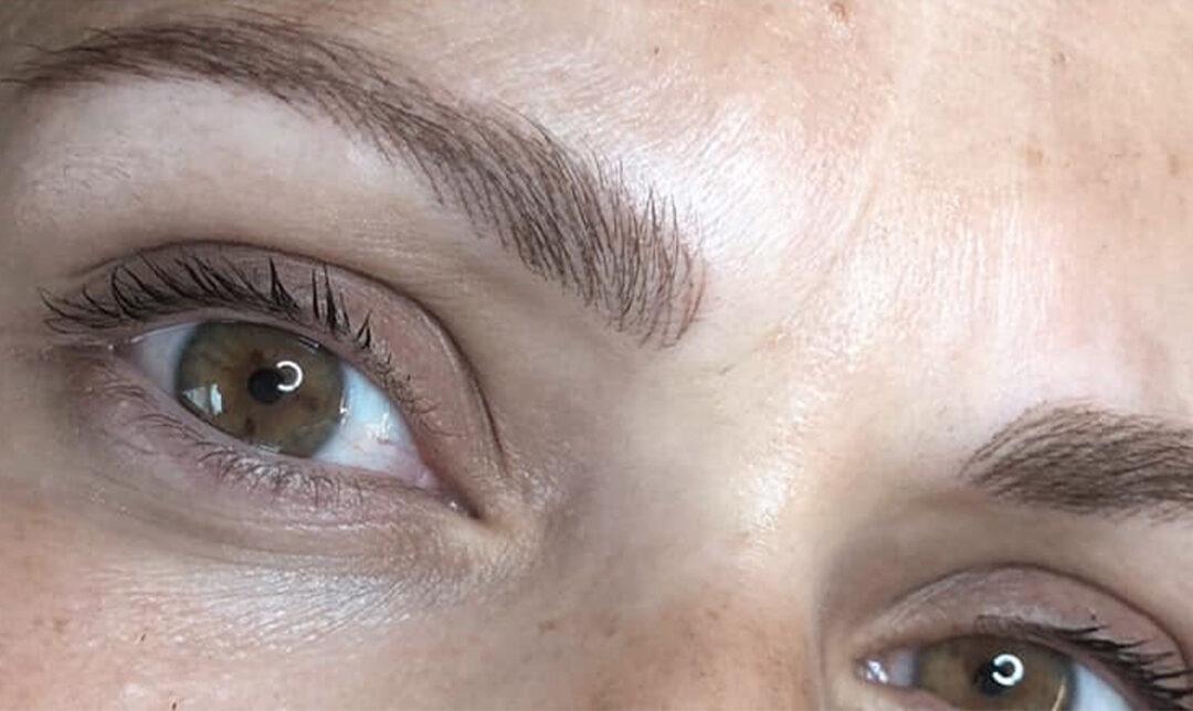 Moderne Maquillage permanent des Sourcils Effet Poil à Poil VG-51